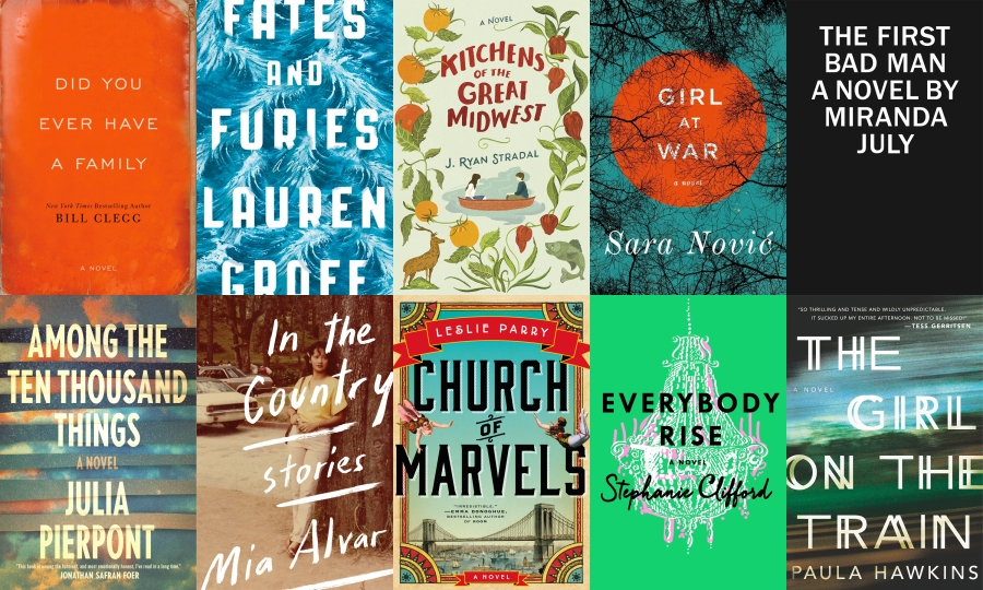 10 books from 2015 (so far)
