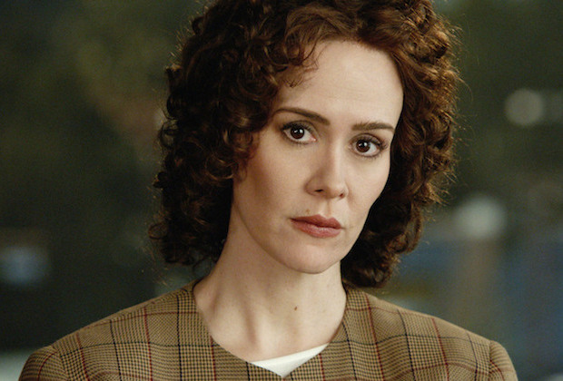 American Crime Story: The People v. O.J. Simpson – Pictured: Sarah Paulson as Marcia Clark. CR: FX, Fox 21 TVS, FXP Premieres on FX, early 2016