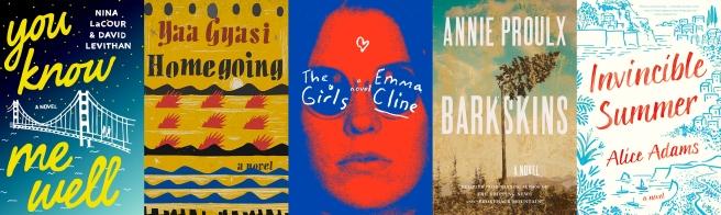 june 2016 books